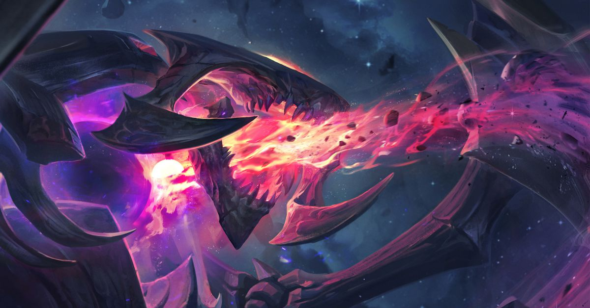Special Dark Star Cho'Gath skin raises over $6.1 million for charity