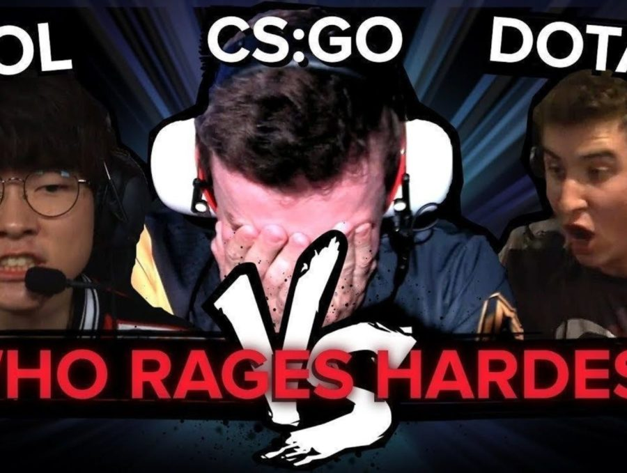 Dota 2 vs CS:GO vs LoL: Who rages the hardest?
