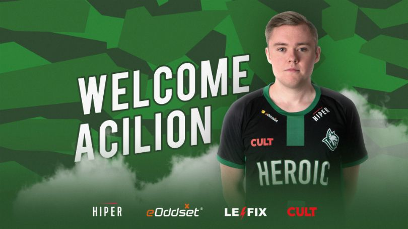 Heroic part ways with RUBINO, bring AcilioN on board | News