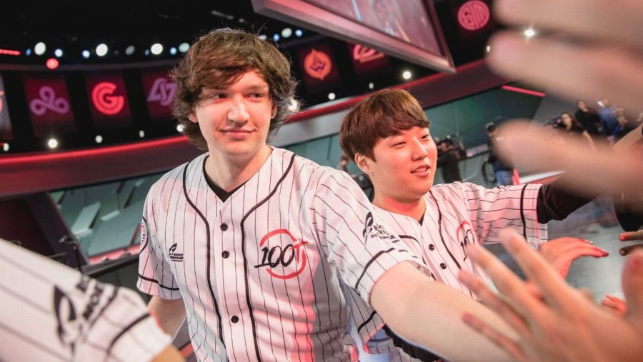On its face, 100 Thieves trade makes little sense