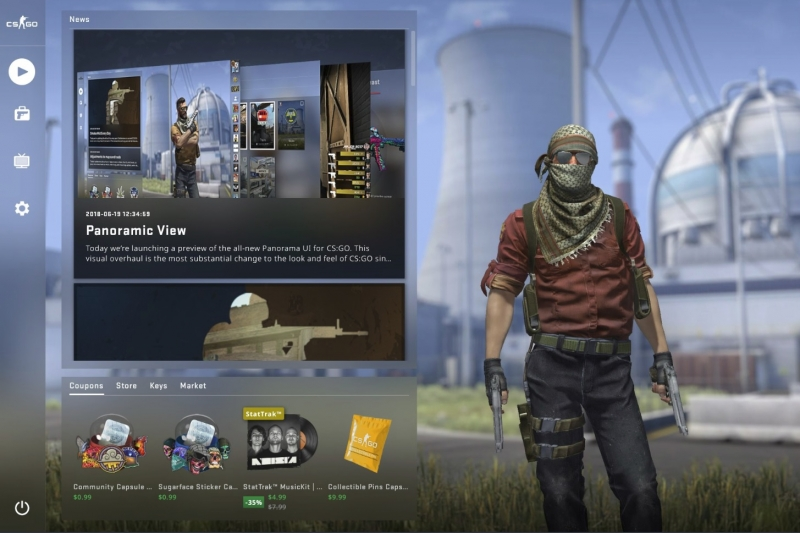 Panorama update hits live version