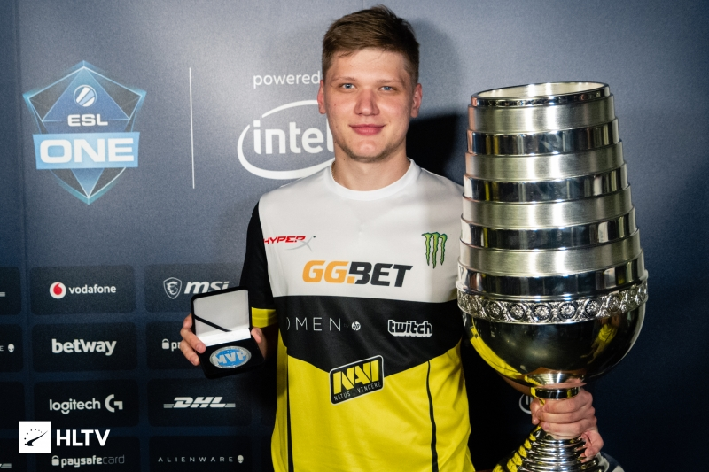 s1mple wins ESL One Cologne MVP award