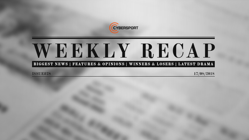 TI8 steals headlines as new gun comes to CS:GO: Weekly Recap | News
