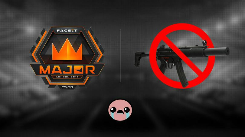 Valve restrict use of MP5-SD at the FACEIT Major | News