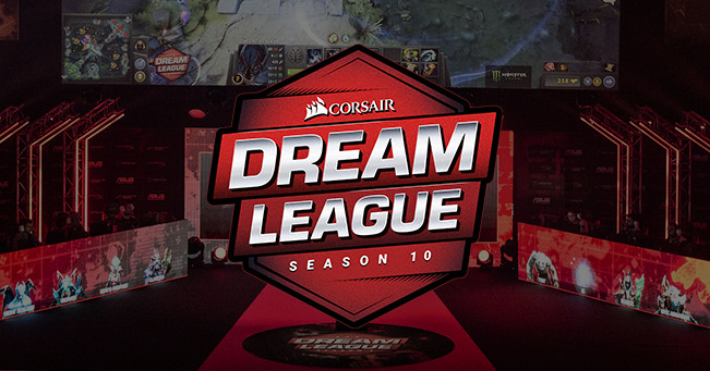 Who qualified for DreamLeague Season 10, the next Dota Minor?