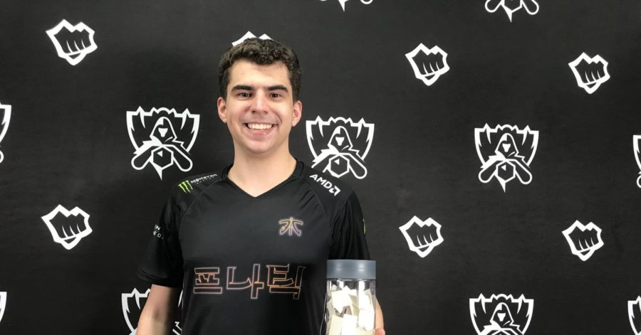 Worlds 2018: A Lightning Round interview with Fnatic's Bwipo