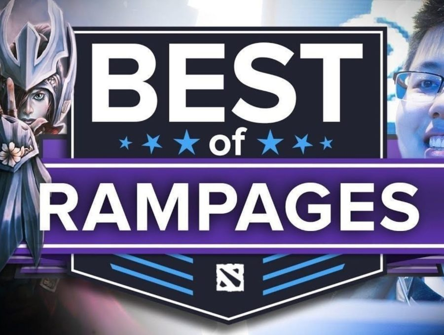 Best of Dota 2 Rampages