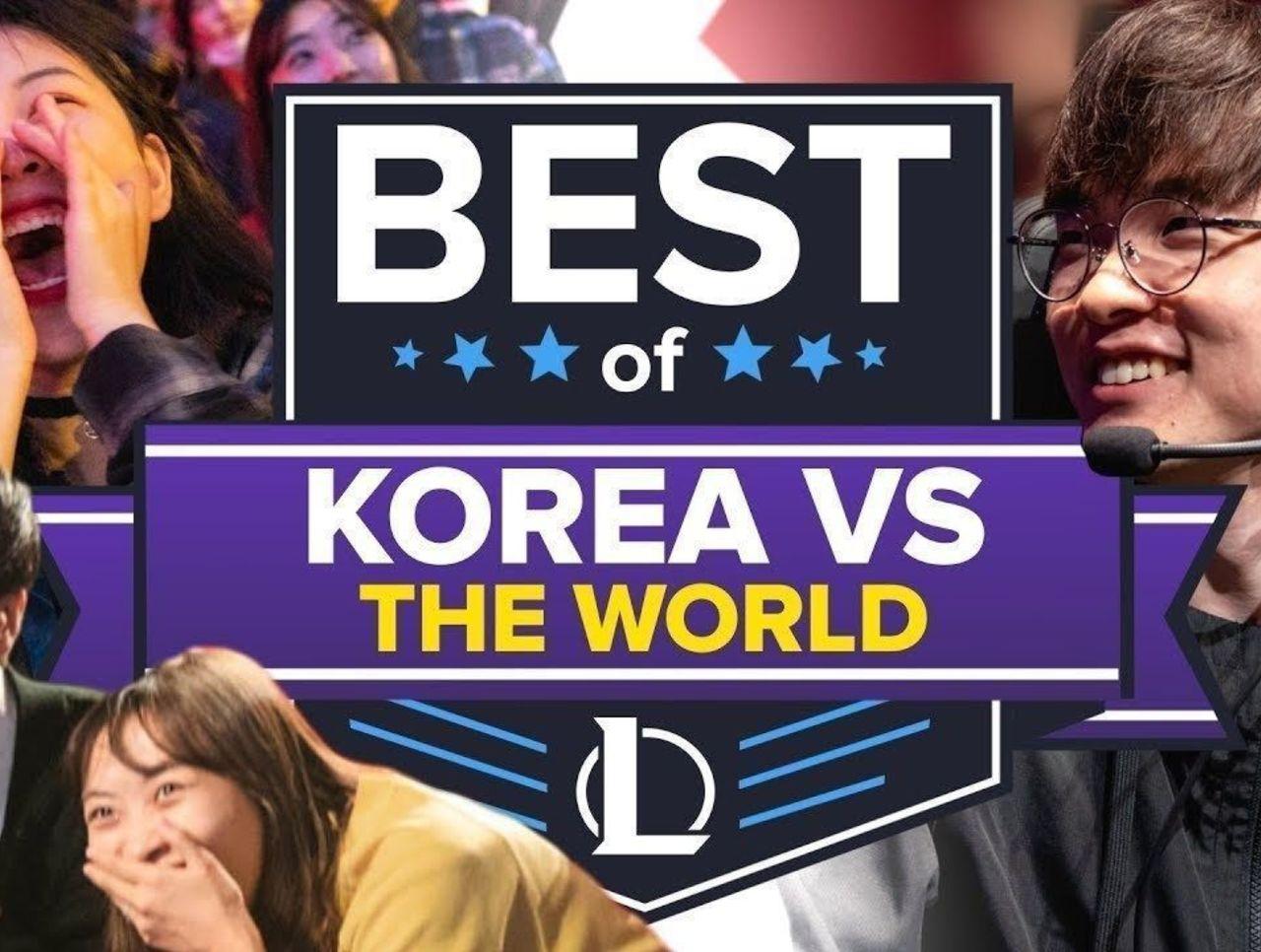 The Best of Korean LoL Teams Dumpstering the Rest of the World