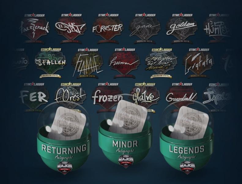 StarLadder Berlin Major stickers released