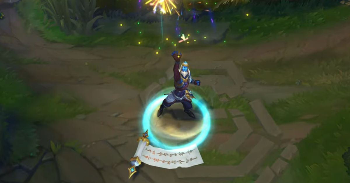 Ryze is getting 2019's Championship skin