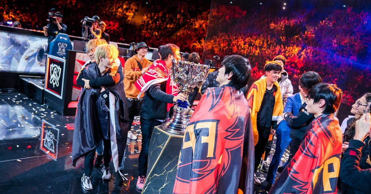 FunPlus Phoenix are the 2019 League of Legends World Champions
