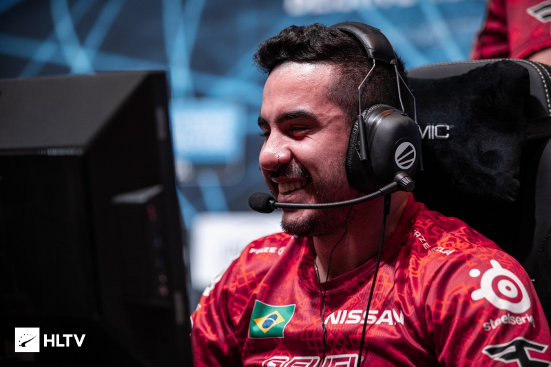 """coldzera: """"Everyone is working really hard and it reminds me of how nice it is to play CS"""""""
