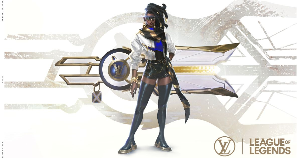 League of Legends' Louis Vuitton True Damage Prestige Senna skin revealed