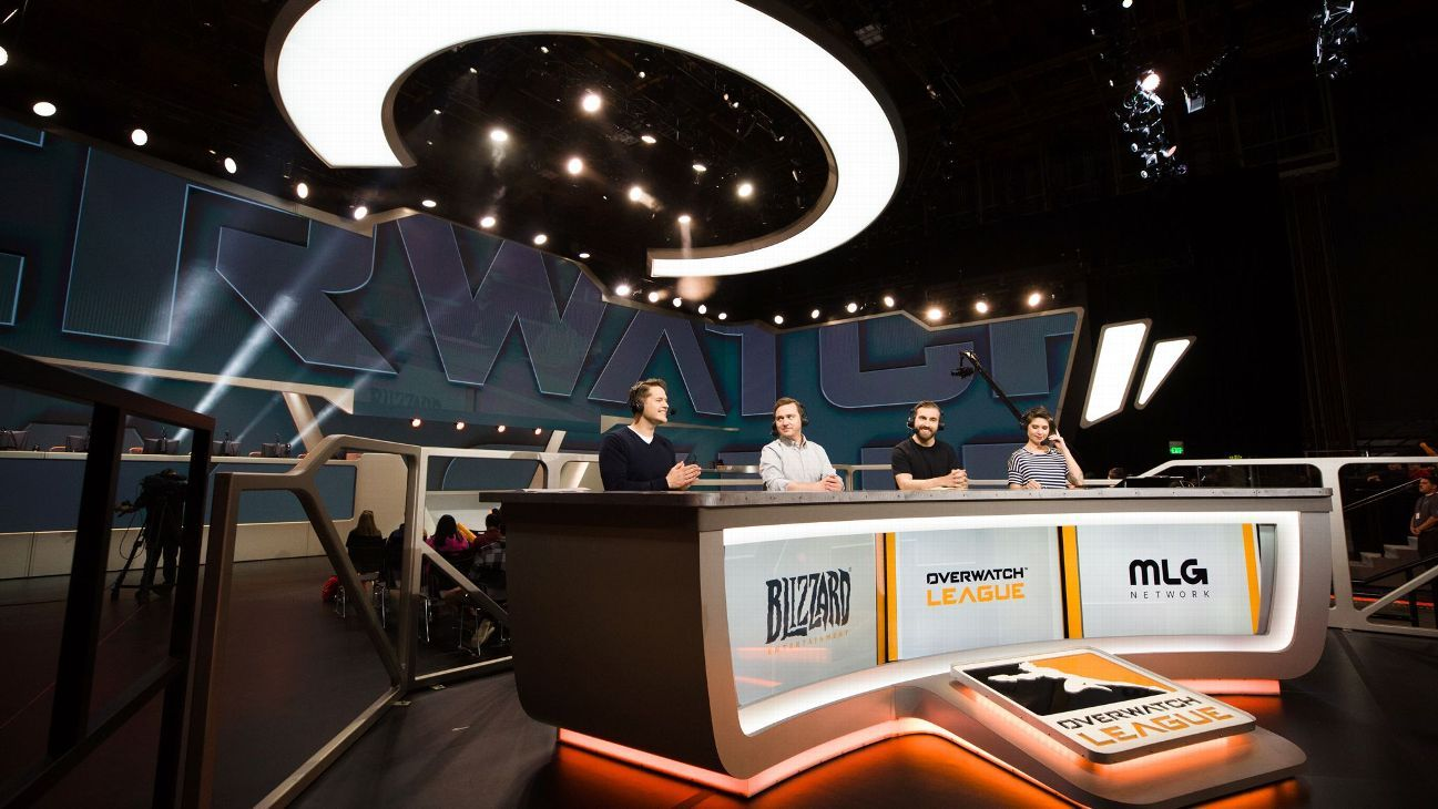 Overwatch League addresses departure of on-air talent
